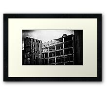Apocalyptic Melbourne Framed Print
