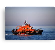 Dover Lifeboat & inshore Lifeboat Canvas Print