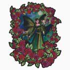 Kerri Green Fairy  by Studio Burke