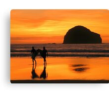 Cornwall: The Gold Coast Canvas Print