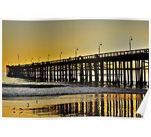 Ventura Pier at Dusk Poster