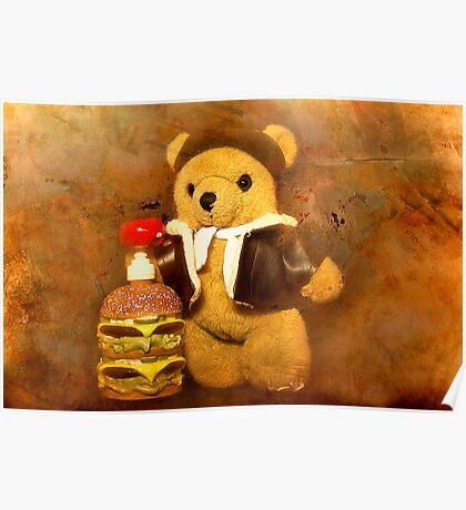 Teds burger 01 Poster