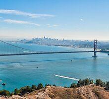 Golden Gate Bridge by randymir