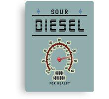 weed sour diesel gifts  Canvas Print