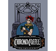 Chrono Coffee Photographic Print