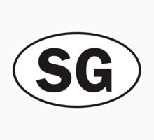 SG - Oval Identity Sign by Ovals