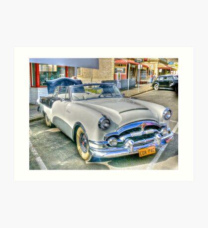 1954 Packard Carribean Convertible Art Print