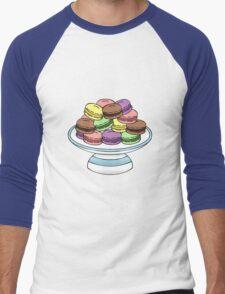 Macarons  Men's Baseball ¾ T-Shirt