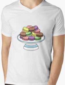 Macarons  Mens V-Neck T-Shirt