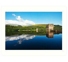 Howard's Dam Derbyshire Art Print