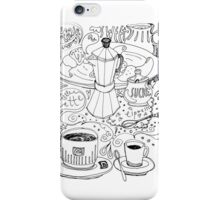 time for breakfast. sketch iPhone Case/Skin