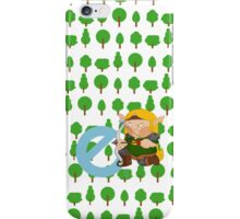 e for elf iPhone Case/Skin