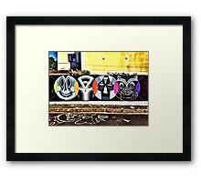 Faith47 in Woodstock 01 Framed Print