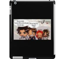 X Castle Files iPad Case/Skin