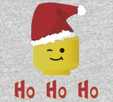 Santa Ho Ho Ho Minifig by Customize My Minifig Kids Clothes