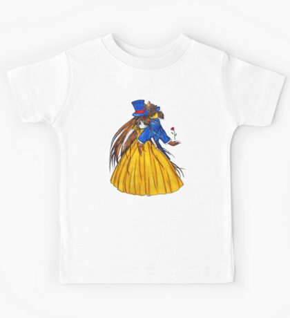 Who is the Mad Hatter ? Beauty and the Beast Kids Tee
