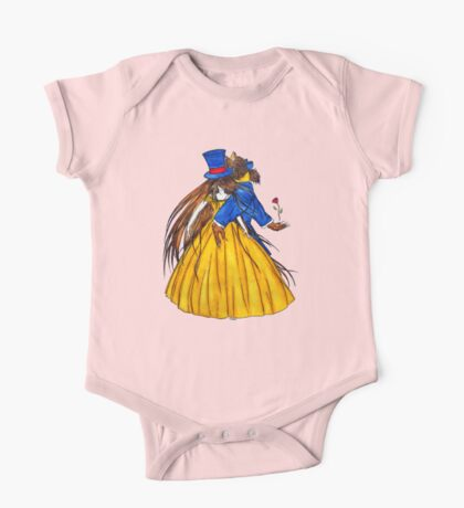 Who is the Mad Hatter ? Beauty and the Beast One Piece - Short Sleeve
