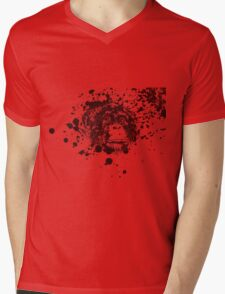 Splash Monkey Mens V-Neck T-Shirt
