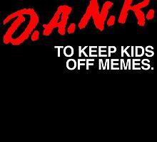 D.A.N.K. Dare Shirt by Dumb Shirts