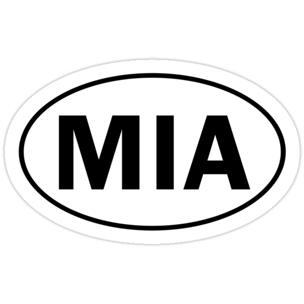 MIA - Oval Identity Sign by Ovals