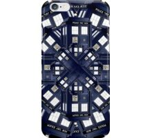 Tardis Kaleidoscope iPhone Case/Skin