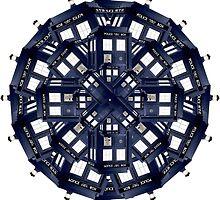 Tardis Kaleidoscope by kayve