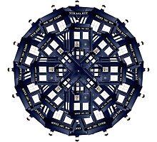 Tardis Kaleidoscope Photographic Print