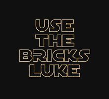 """USE THE BRICKS LUKE"" by Customize My Minifig Unisex T-Shirt"