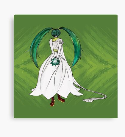 Flower Girl : Muguet (Lily of the valley) Canvas Print