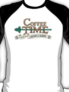 Coffee Time! (Banner) T-Shirt