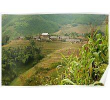 Y Linh Ho Village, Vietnam Poster