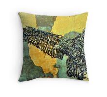 DAL East in Woodstock 04 Throw Pillow