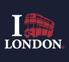 I LOVE LONDON Kids Tee