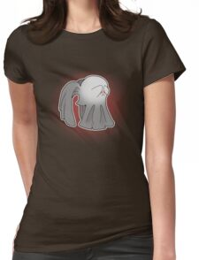Angels say Boo! Womens Fitted T-Shirt