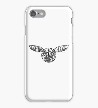 I Open At The Close - Golden Snitch iPhone Case/Skin