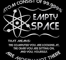 The atom consist of 99.999% empty space! by augustinet