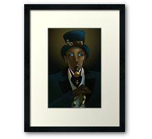 Egypto-NeoVictorian Noir Framed Print