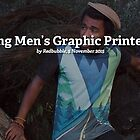 Introducing Men's Graphic Printed T-Shirts by Redbubble Community  Team