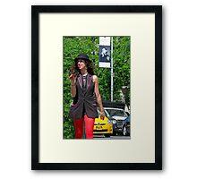 (Workshop) Street Entertainment Framed Print