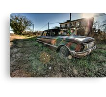 Old Ford Falcon HDR Canvas Print