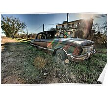Old Ford Falcon HDR Poster
