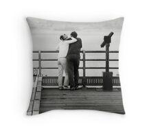 The Couple Throw Pillow
