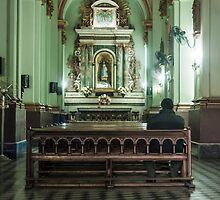 Church interior by Gabriel Skoropada