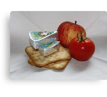 Lunch Box Canvas Print