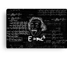 E = mc2 Canvas Print