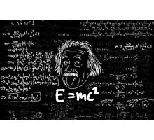 E = mc2 Photographic Print