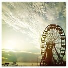 The Ferris Wheel; Daytona Beach, Florida by Kevin Koepke