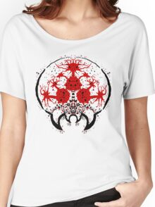 Metroid Rorschach Test  Women's Relaxed Fit T-Shirt