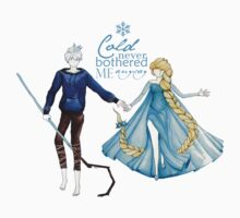 Cold never bothered me anyway (Jelsa) One Piece - Long Sleeve