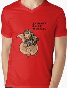 Little Jimmy Mens V-Neck T-Shirt